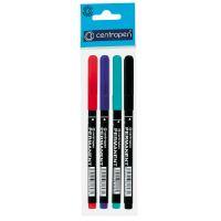Popisovač Centropen 2536 Permanent, 1 mm, sada 4 barev