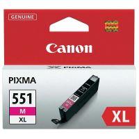 Inkoustová cartridge Canon CLI-551M XL, iP7250, MG5450, MG6350, magenta, originál