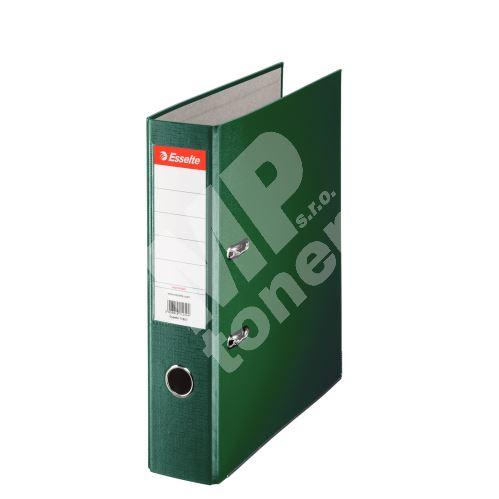 Pákový pořadač Esselte Economy A4 75 mm, zelený 1