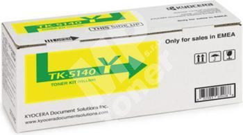 Toner Kyocera TK-5140Y, yellow, 1T02NRANL0, originál 1