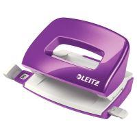 Mini děrovačka Leitz NeXXt WOW 5060, purpurový