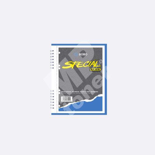 Bobo kroužkový blok Speciál A5, 50 listů, čistý 1