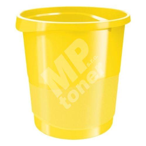 Odpadkový koš Esselte Europost VIVIDA, žlutý 1
