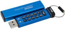 8GB Kingston USB 3.0 DT2000 HW šifrování, keypad