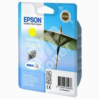 Inkoustová cartridge Epson T045440 žlutá, originál