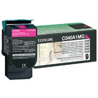 Toner Lexmark C540, X543, X544, X543, X544, magenta, 0C540A1MG, originál