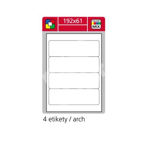 Samolepící etikety SK LABEL 192 x 61 mm, zelené 1