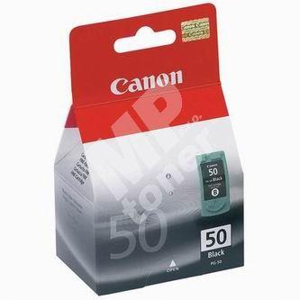 Cartridge Canon PG-50, black, originál 1
