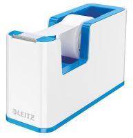 Stolní odvíječ lepicí pásky Leitz Wow, plast, modrý