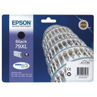 Inkoustová cartridge Epson C13T79014010, WF-5620DWF, WF-5110DW, 79XL, black, originál