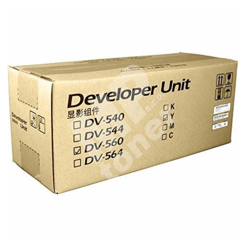 Developer Kyocera DV-560Y, yellow, originál 1