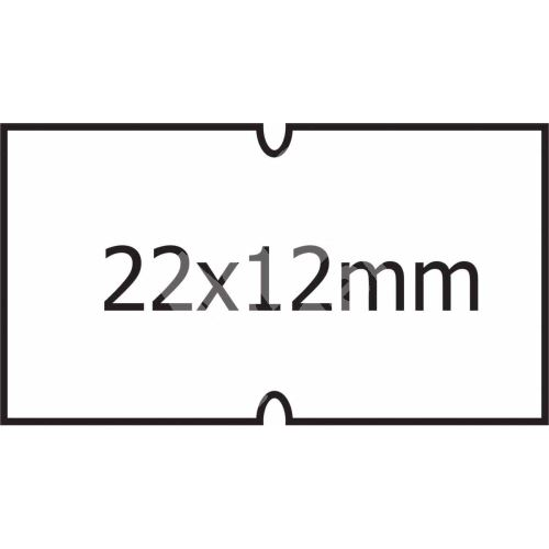 Cenové etikety 22 x 12 COLAPLY bílá 1