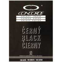 Kopírák úhlový papír A4 černý, 100 ks