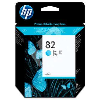 Inkoustová cartridge HP C4911A, cyan, No. 82, 69ml, originál
