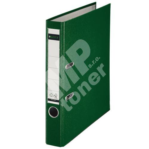 Pákový pořadač Leitz 180, A4, 52 mm, PP/karton, se spodním kováním, zelený 1