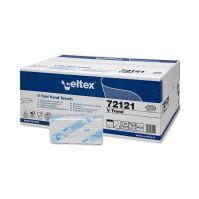 Ručníky papírové skládané Celtex 72121 V Trend 3150ks, 2 vrstvy, bílé