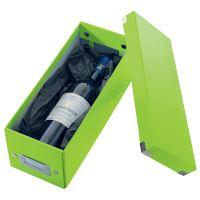 Archivační krabice na CD Leitz Click-N-Store WOW, zelená 2