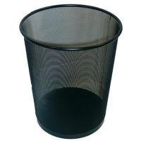 Odpadkový koš Victoria drátěný, 18l, černá