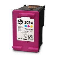Cartridge HP F6U67AE, No.302XL, color, originál 2