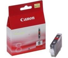 Inkoustová cartridge Canon CLI-8R, red, 13ml originál