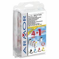 Kompatibilní cartridge Brother LC970/1000BK/C/M/Y DCP130C, DCP150C, DCP330C Armor