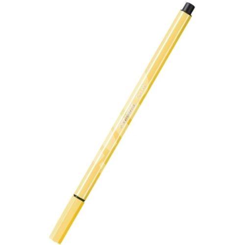 Fix, 1 mm, STABILO Pen 68, žlutá 1