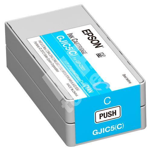 Cartridge Epson C13S020564, cyan, GJIC5(C), originál 1