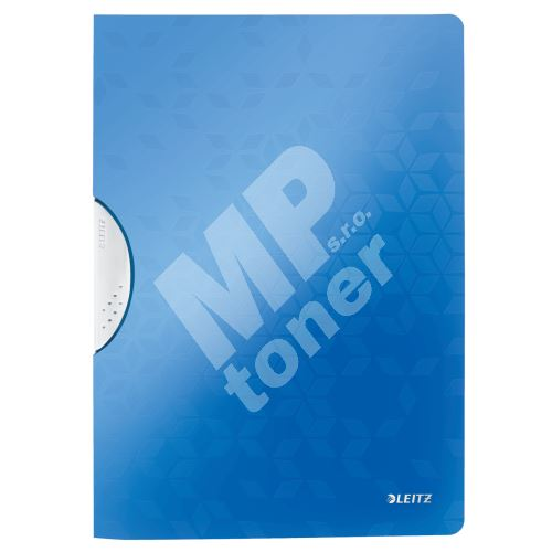 Desky s klipem Leitz WOW, PP, modré 1