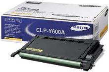 Toner Samsung CLP 600, N, 650, N, žlutý, CLP-Y600A, originál