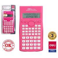 Kalkulačka Deli vědecká růžová