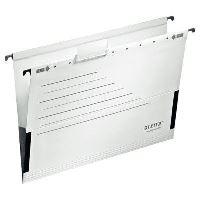 Závěsné desky Leitz ALPHA ACTIVE s bočnicemi, bílé, balení 5 ks