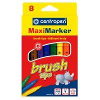 Značkovač Centropen 8773/8 Brush-supervypratelné