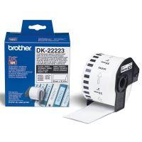 Papírová role Brother DK22223, 50mm x 30.48m, bílá, 1 ks