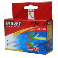 Kompatibilní cartridge Canon BCI-6Y, yellow, Logo