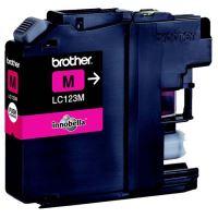 Cartridge Brother LC-123M, magenta, originál 1
