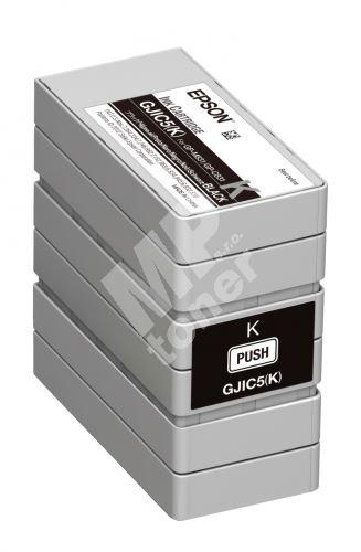 Cartridge Epson C13S020563, black, GJIC5(K), originál 1