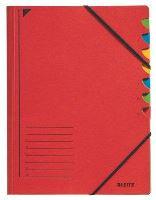 Třídící desky Leitz s gumičkou, 7 přihrádkové 1