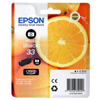 Inkoustová cartridge Epson C13T33414012, Expres. Home XP-530, photo black, 33, originál