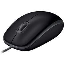Myš Logitech B110 Silent USB black