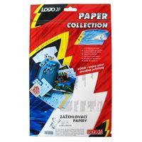 Samolepící etikety LOGO A4 zažehlovací papíry na bílá trička 1bal/5ks