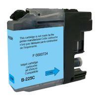 Kompatibilní cartridge Brother LC-225XLC, MFC-J4420DW, MFC-J4620DW, cyan, UPrint