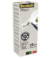 Lepicí páska 3M Scotch 900/9, recyklovaná, balení 9 ks