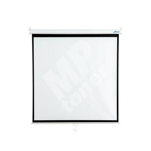 AVELI Nástěnné projekční plátno 130x130 cm (1:1) 4