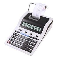 Kalkulačka Sharp CS2635RHGYSE, bílá, stolní s tiskem, dvanáctimístná