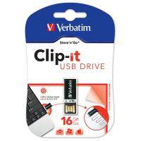 16GB Verbatim Pin It, USB flash disk 3.0, 43951, černá