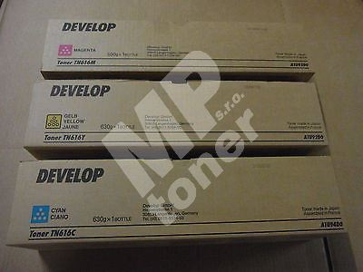 Toner Develop TN616C, A1U94D0, cyan, originál 1