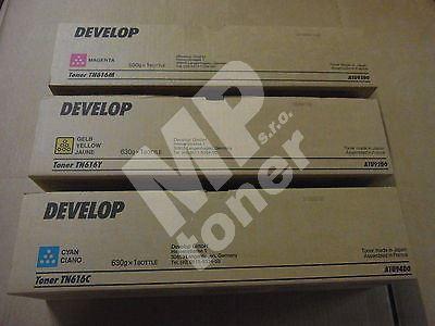 Toner Develop TN616M, A1U93D0, magenta, originál 1