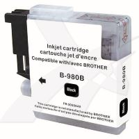 Kompatibilní cartridge Brother LC-980Bk, DCP 145C, DCP165C, black, UPrint