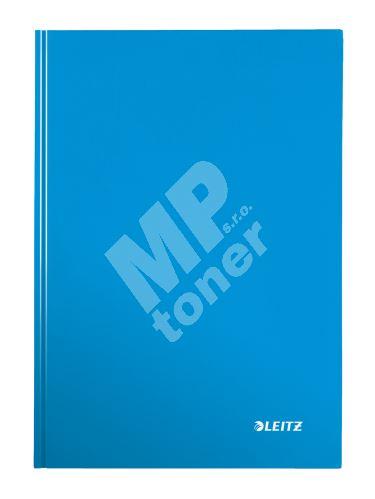 Zápisník Leitz WOW A4, čtverečkovaný, modrý 1