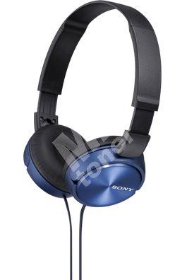 Sony sluchátka MDR-ZX310, modré 1